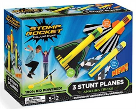 D And L Stomp Rocket (40000) Stunt Planes, 3 Planes