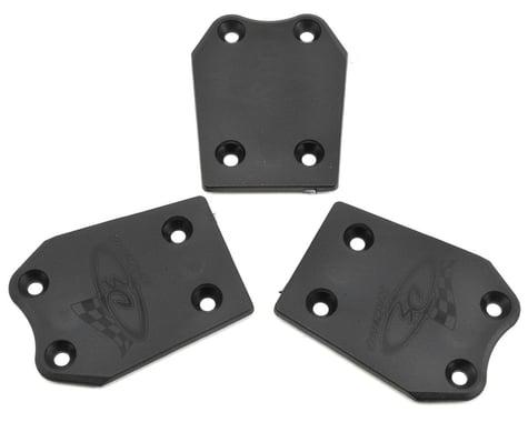 DE Racing XD Extreme Duty Rear Skid Plates (3) (Associated RC8B3)