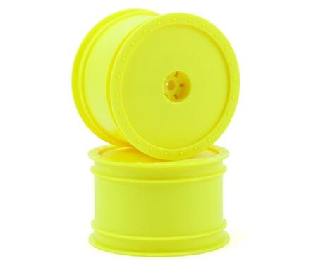 "DE Racing ""Borrego"" 2.2 1/10 Buggy Rear Wheels(2) (B4/B44) (Yellow) (Pins)"