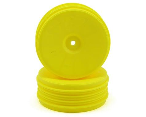 DE Racing Speedline PLUS 2.4 1/10 Buggy Front Wheel (2) (Yellow)