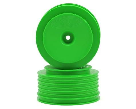 """DE Racing 12mm Hex """"Speedline PLUS"""" Short Course Wheels (Green) (2) (SC5M)"""