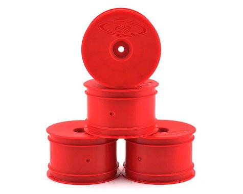 DE Racing Speedline 2.2 1/10 Buggy Rear Wheels (4) (B6/B74/22/22-4) (Red)