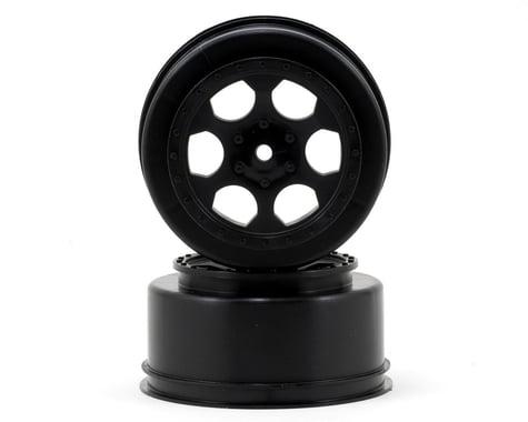"""DE Racing 15mm Hex """"Trinidad"""" Short Course Wheels (Black) (2) (DESC210/410)"""