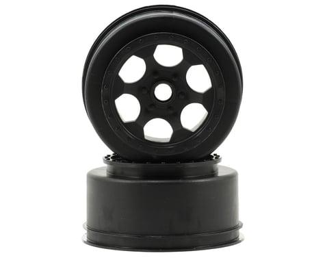 DE Racing Trinidad Short Course Wheels (Black) (2) (XXX-SCT/SCB Front)