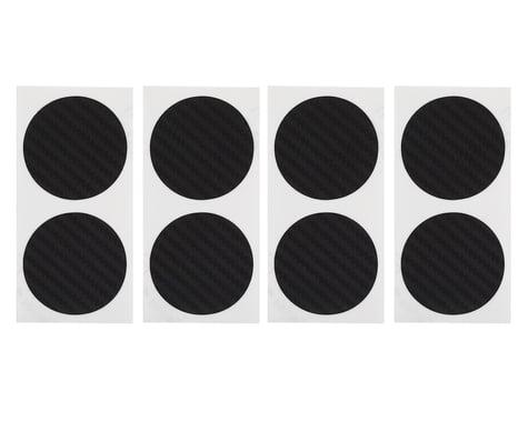 DE Racing Gambler Dirt Oval Mud Plug Wheel Sticker Disks (Carbon Fiber)
