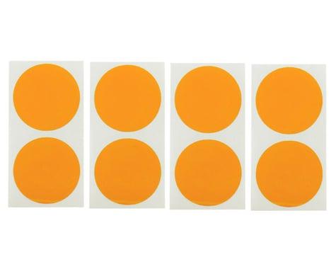 DE Racing Speedway Mud Plug Sticker Disks (Orange) (8)