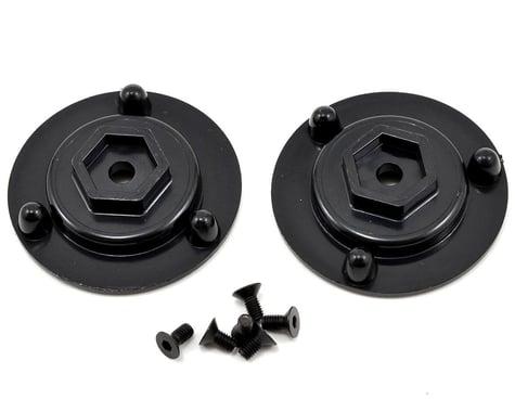 DE Racing 12mm Hex Short Axle Adapters (2)
