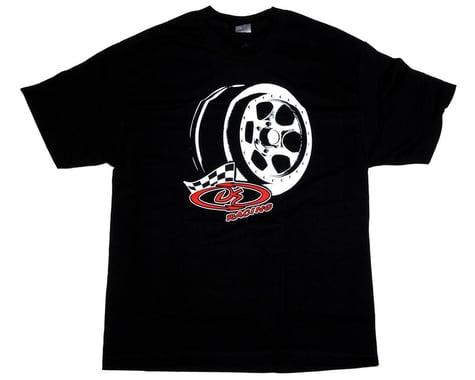 "DE Racing ""Trinidad"" T-Shirt (Black) (S)"