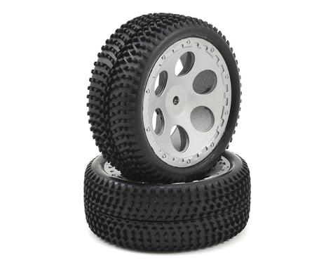 Dromida Pre-Mounted 1/18 Tire (2) (Black)