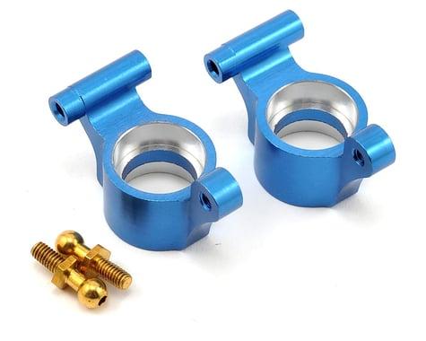 Dromida 1/18 Aluminum Rear Hub (Blue) (2)