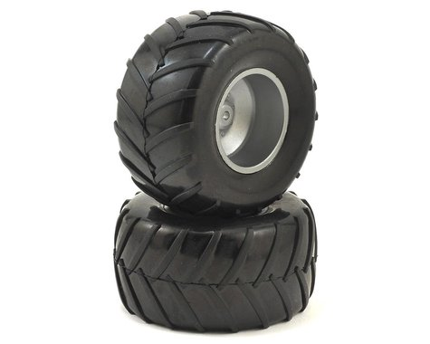 Dromida Pre-Mounted 1/18 Monster Truck Tires (2)