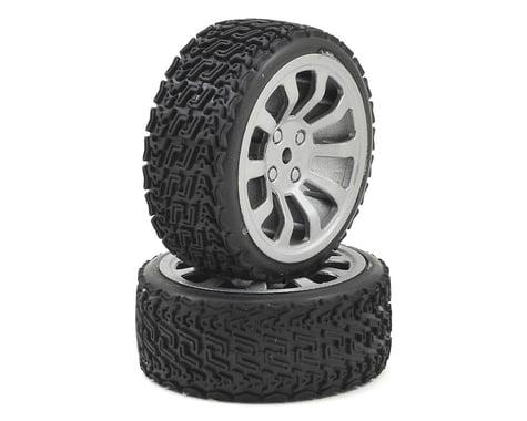 Dromida Pre-Mounted 1/18 Rally Tire (2)