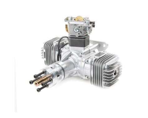DLE-40 40cc Twin Gas with Electronic Ignition and Muffler
