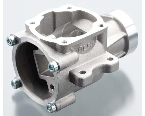 Crankcase with Back Plate: DLE-20