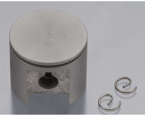 DLE Engines Piston with Pin and Retainer: DLE-20RA
