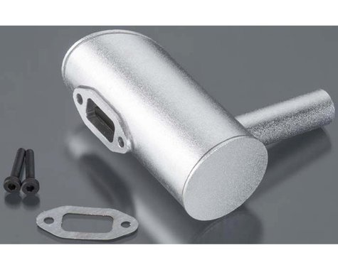 DLE Engines Muffler Right 2-Hole: DLE-40