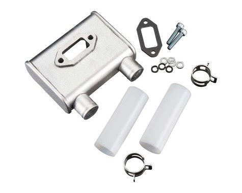 DLE Engines Muffler: DLE 55-RA