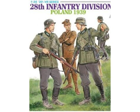 Dragon Models 1/35 Infantry Division Poland '39 4pc
