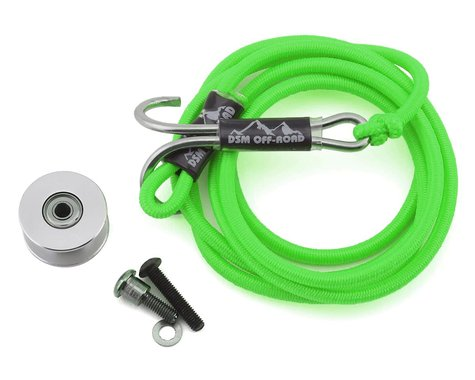 DSM Off-Road SCX10 II Integrated Self Recovery System (Neon Green)