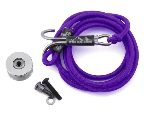 DSM Off-Road SCX10 II Integrated Self Recovery System (Purple)