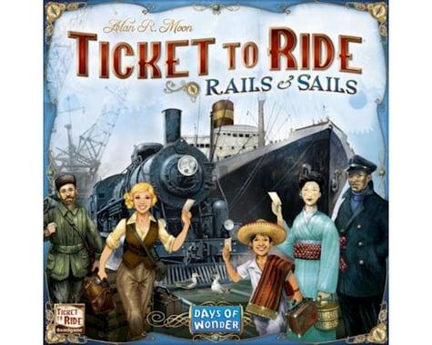 Days Of Wonder Ticket to Ride: Rails & Sails Board Game