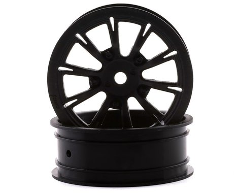 """DragRace Concepts AXIS 2.2"""" Drag Racing Front Wheels w/12mm Hex (Black) (2)"""