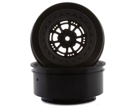 "DragRace Concepts AXIS 2.2/3.0"" Drag Racing Rear Wheels w/12mm Hex (Black) (2)"