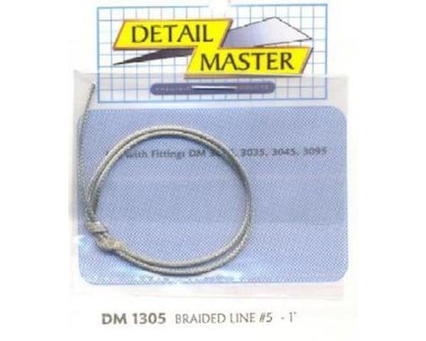 "Detail Master 1/24-1/25 Braided Line #5 (.060""/1ft.)"