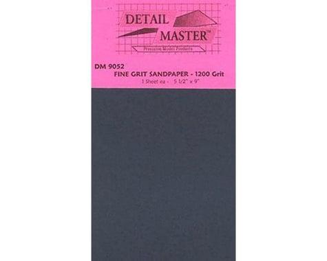 "Detail Master Polishing Sand Paper 1200 Grit (9""x5.5"")"