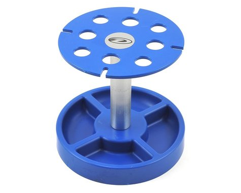 DuraTrax Pit Tech Deluxe Shock Stand (Blue)