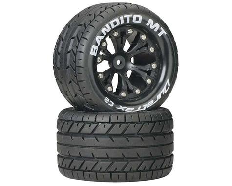 "DuraTrax Bandito MT 2.8"" 2WD Mounted Rear C2 Tires, Black (2)"