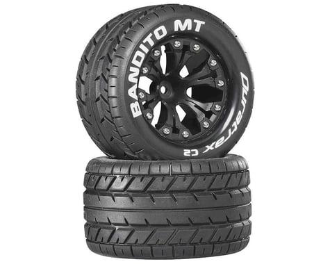 "DuraTrax Bandito 2.8"" Mounted Nitro Rear Truck Tires (Black) (2) (1/2 Offset)"