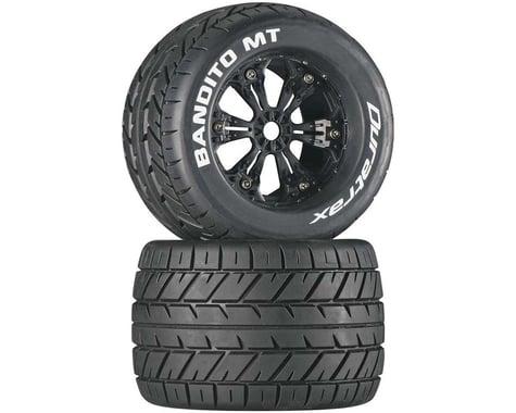 "DuraTrax Bandito MT 3.8"" Mounted Tires, Black (2)"