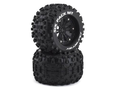 "DuraTrax Six Pack MT 3.8"" Pre-Mounted Monster Truck Tire (Black) (2) (CS - Sport)"