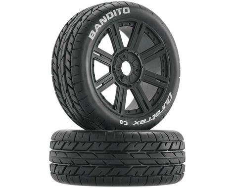 DuraTrax Bandito Pre-Mounted Buggy Tire (Black)(2)(Soft - C2)