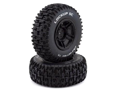 DuraTrax Lockup SC 1/10 Mounted Slash Rear Tire (Black) (2) (C2)