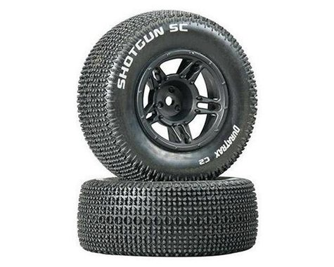 DuraTrax 1/10 Shotgun SC Tire C2 Mounted Front Tires: Slash (2