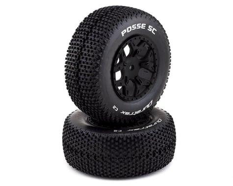 DuraTrax Posse 1/10 Pre-Mounted SC Truck Tire (2) (C2) (Losi Ten SCTE 4x4)