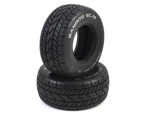 DuraTrax Bandito SC-M Oval Short Course Tire (2) (C3)