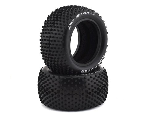 """DuraTrax Equalizer 1/10 2.2"""" Rear Buggy Tires (2) (C2)"""