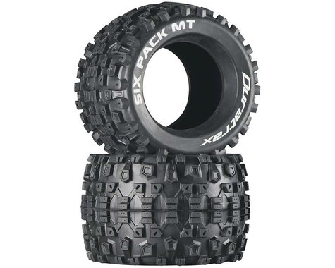"DuraTrax Six Pack Monster Truck 3.8"" Tire (2)"