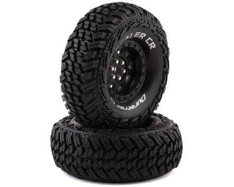"DuraTrax Scaler CR C3 Mounted 1.9"" Crawler Tires, Black (2)"