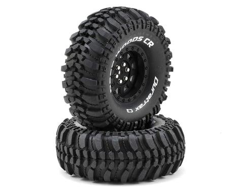 "DuraTrax Deep Woods CR 1.9"" Pre-Mounted Crawler Tires (2) (Black) (C3 - Super Soft)"