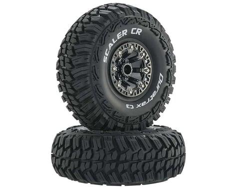 "DuraTrax Scaler CR C3 Mounted 2.2"" Crawler Tires, Chrome (2)"