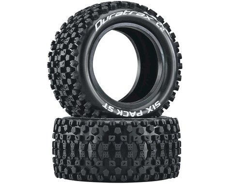"""DuraTrax Six Pack ST 2.2"""" Rear Buggy Tires (2)"""