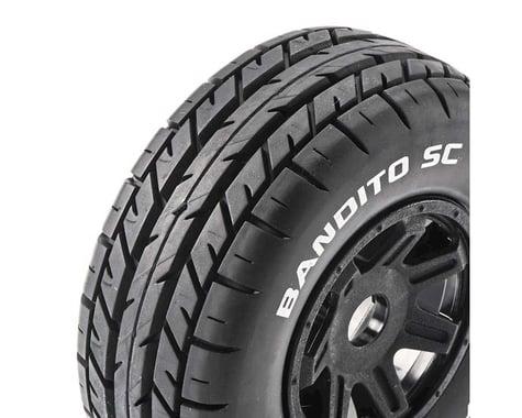DuraTrax Bandito Pre-Mounted SC Tires (Black) (2) (C2)