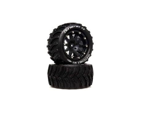 "DuraTrax Hatchet MT Belted 2.8"" 2WD Rear Truck Tires (Black) (2) (0 Offset)"
