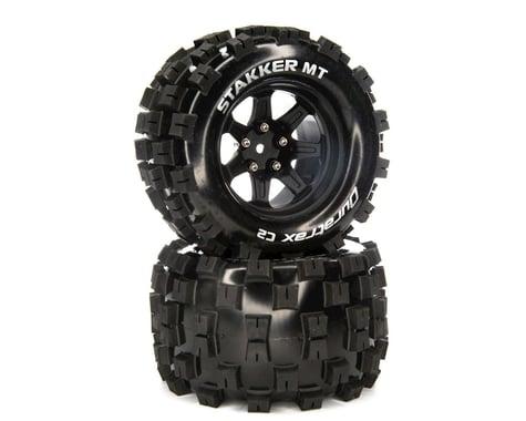 "DuraTrax Stakker MT 2.8"" 2WD Front/Rear Truck Tires w/14mm Hex (Black) (2)"