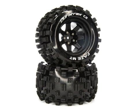 "DuraTrax Faze MT 2.8"" 2WD Front/Rear Truck Tires w/14mm Hex (Black) (2)"