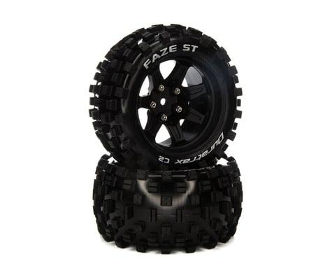 "DuraTrax Faze ST 2.8"" 2WD Front/Rear Truck Tires w/14mm Hex (Black) (2)"